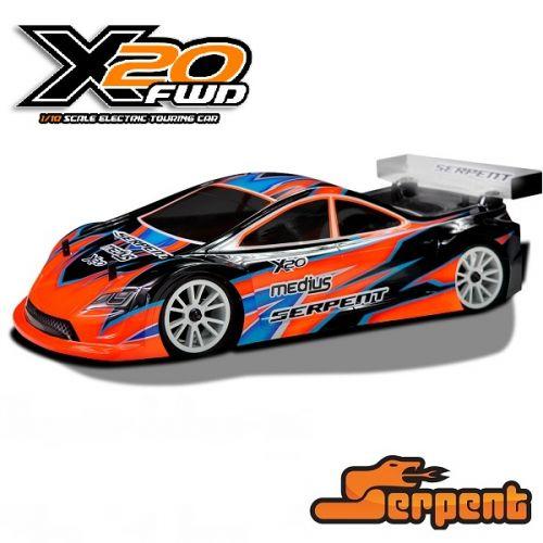 SERPENT 400033 X20 CARBON