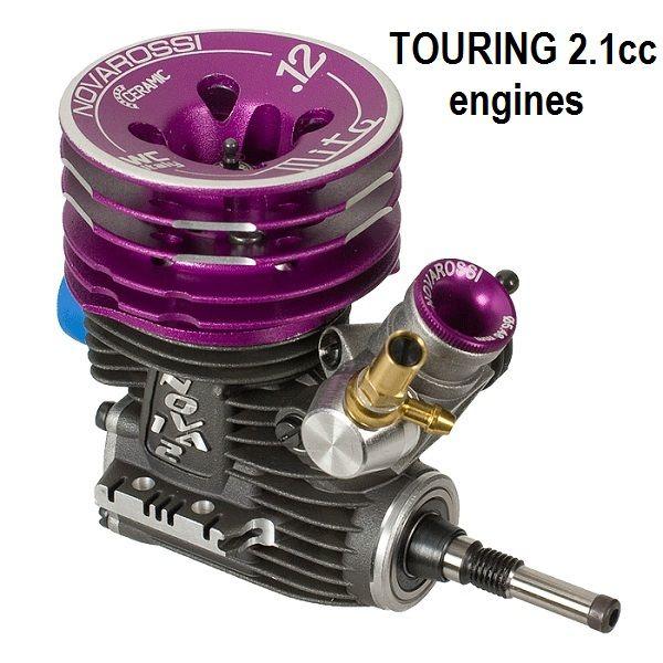 Motori a scoppio Touring 2.1cc